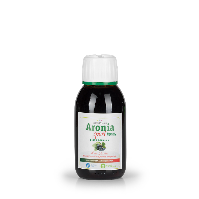 Aronia Sport - Lična formula